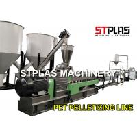 Waste Plastic Recycling Pellet Machine With Twin Screw Extruder Energy Saving