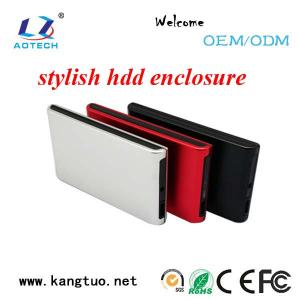China Aotech wholesale external usb3.0 SATA 2.5 hdd enclosure on sale
