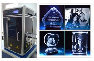 China Portable Glass / Acrylic / Crystal Subsurface Engraving Machine CE FDA Certificated on sale