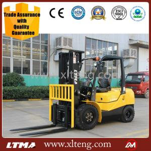 China high quality 2 ton diesel forklift truck price with 3 4 6m mast with specification on sale