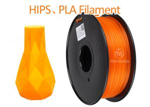 China High Performance ABS 3D Printer Filament 1.75mm PLA 3D Printing Material on sale