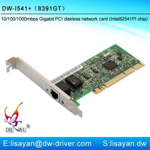 China Best selling 1000M Intel 82541/8391GT chipset RJ45 PCI network adapter for diskless used on sale