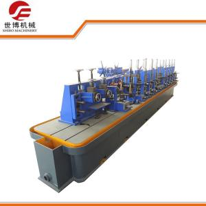 China High Frequency Welded Carbon Steel Pipe Making Machine For Round Square Tube on sale