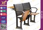 Professional Gravity Return Lecture Hall Chair Table With Writing Board