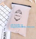 Apparel Garment Clothing package PE slider zip bag, zipper ziplock packaging bags with slider zipper,pvc packaging bags
