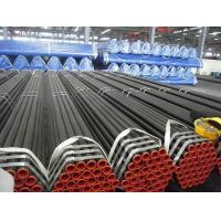 China ERW HFI EFW Welded Steel Pipe Carbon Steel Tube A53 API5l GrA GrB Din2458 EN10217 on sale