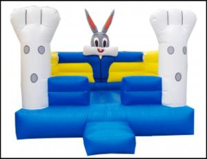 Quality Air Cheap Rabbit Infatable Bouncer for Kids Commercial Animal Rabbit Theme for sale