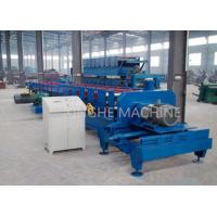 Blue Color 11 Kw Purlin Roll Forming Machine With Smart PLC Control System