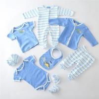 19 - 24 Months Baby Boy Clothing Sets Knitted Interlock Fabric Type 8pcs