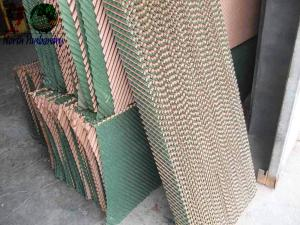 China Evaporative cooling pad, poultry equipment, ventilator, fan  on sale