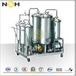 High Oil Yield Rate Lubricating Oil Purifier For Dewater / Degas / Remove Impurities