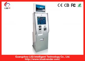 China Bill Payment NCR ATM Kiosk With Full HD LED Screen , Digital Signature Kiosk on sale