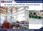 20-110mm Multilayer PPR pipe with Glassfiber Layer Extrusion Machine speed 28m/min