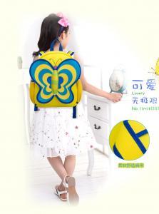China Eco-Friendly School Bag For Preschool , Big Student Backpacks Shockproof on sale