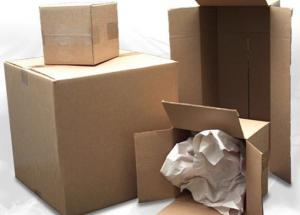 China Corrosion Resistant Corrugated Packaging Boxes For Transporting Recyclable Carton on sale
