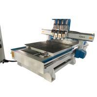 Servo Motor 3D CNC Wood Carving Machine /  Woodworking Router Machine Hand Wood