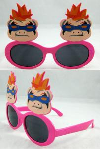 China new model Party Funny Glasses with PC frame for costume party on sale