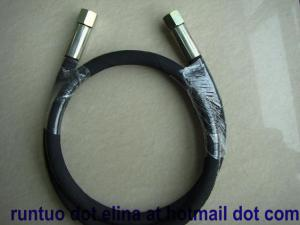 China SAE R2 hydraulic hose assembly on sale