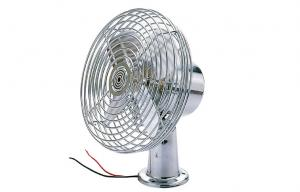 China DC 12V Oscillating Car Fan , 8 Inch Metal Auto Fan with switch on sale