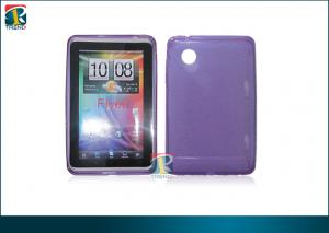 China 7 Inch Smart Slim Tpu Tablet Protective Case / Stand Pu Cover For Htc Flyer on sale