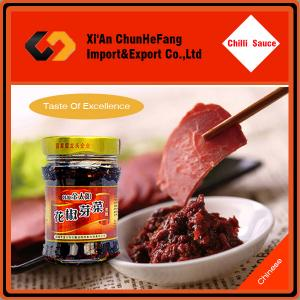 China chili pepper paste without presevative on sale