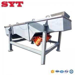 China spices and herbs powder classification linear vibrating sifter on sale