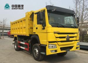 China SINOTRUK HOWO 266hp Heavy Duty Truck Trailers 4x2 6 Wheels Mini Dump Truck on sale