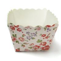 China アルミ ホイル、金/銀ぱくは、ペーパー装飾的なカップケーキのラッパーを印刷しました on sale