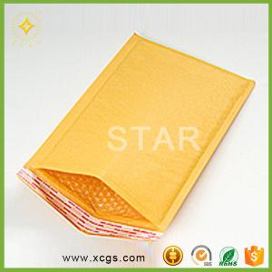 China Golden Kraft Paper Bag/Mailer Custom Bubble Envelope From China Professional Manufacturer on sale