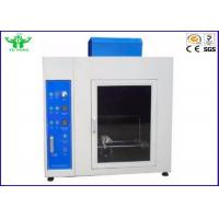 Material Burning Horizontal Flammability Tester , 220v Needle Flame Test Apparatus