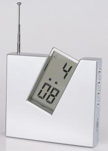 China Alarm LCD Clock with Date and FM Radio on sale