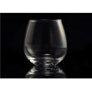 Quality Morden Clear Wine Glass Tumbler / 20 Ounce Drinking Glasses Recyclable for sale