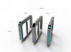 China LED Indicator Speed Gates , Security Access Control Gates with  NFC Card Reader,Manufacturers and Supplier on sale