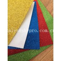 Durable  Rubber Sole Sheet Foam Sheet OEM Glitter With Stable Powder For Kids Craft
