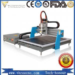China Desktop mini advertising cnc router 6090 / cnc marble engraving machine price TMG6090-THREECNC on sale