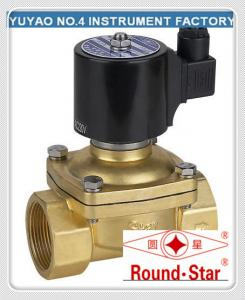 "China 3/8""Low Pressure Diesel Fuel Solenoid Valve , Solenoid Valve Gas Semi Direct Acting on sale"