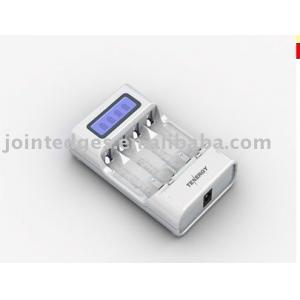 China AC 100 - 240V Low voltage restore feature 5 level charge protection Aa Battery Chargers on sale
