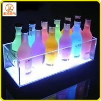 New design customized LED acrylic ice bucket for the wine in the pub