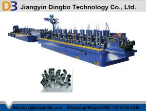 China Stainless Steel ERW Tube Mill , Pipe Welding Line Flying Saw Cutting System on sale