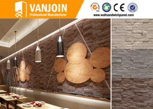 China 6MMの適用範囲が広い火証拠の装飾的なストリップの石塀は酸の証拠をタイルを張ります on sale