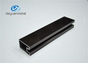 China Industry Customized Champagne Aluminium Window Frames With Alloy 6063-T5 on sale