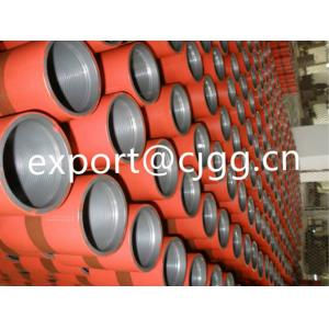 China C95 Q125 Oil Casing Pipe API Coupling Colour Codes Painted For Connect 2 Joints on sale