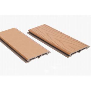 China Eco-Friendly Park Partition WPC Wall Panel , 112x15mm Composite Panel Roof on sale