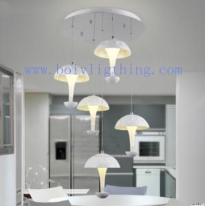 China Led Interior Lighting Fixture Ceiling Pendant Lamp Wite Shades on sale