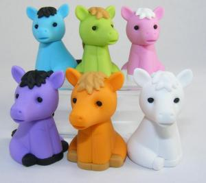China animal puzzle erasers for children on sale