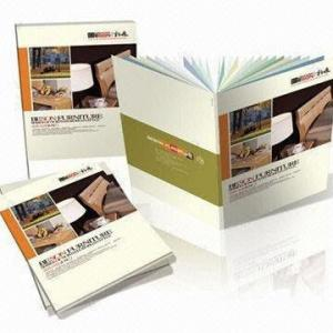China Professional Magazine / Flyers / Brochure / Photo Book Printing with Frosting, Embossing Textures and Patterns on sale