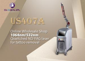 China Medical Skin Care Nd Yag Laser Machine For Face Spots Rejuvenation / Vascular Treatment on sale