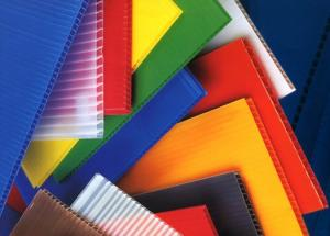 China PP Corrugated Plastic Sheet/PP Hollow Board on sale