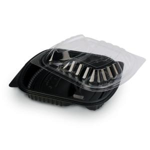 China Take Away Food Grade Transparent Disposable Plastic Boxes on sale