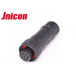 PA66 Waterproof Circular Connector 8 Pin For Power And Data Transmission